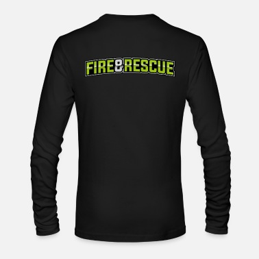 Rescue Fire & Rescue - Men's Long Sleeve T-Shirt by Next Level