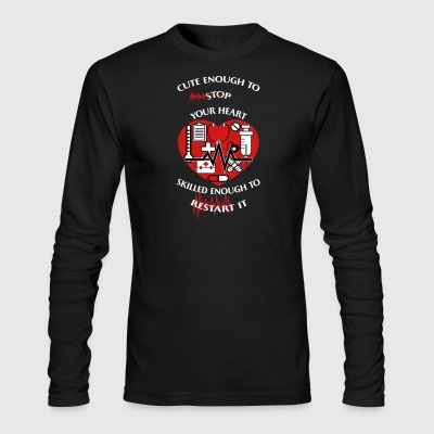 Valentines Shirt - Men's Long Sleeve T-Shirt by Next Level