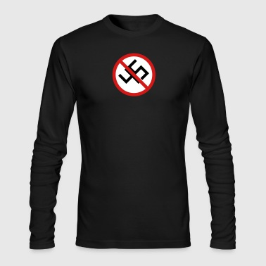 Anti-45 Against White Supremacy and the Alt Right - Men's Long Sleeve T-Shirt by Next Level