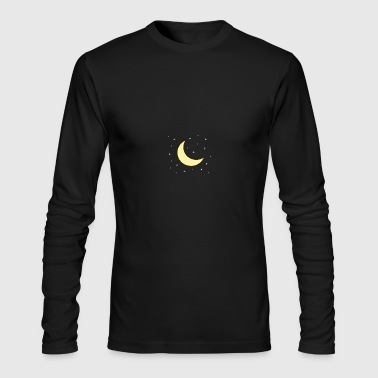 Pretty moon - Men's Long Sleeve T-Shirt by Next Level