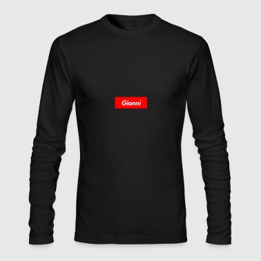 Gianni Custom Hoodie - Men's Long Sleeve T-Shirt by Next Level