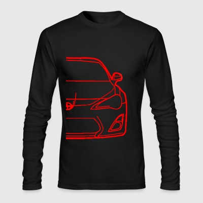 FR-S OUTLINE - Men's Long Sleeve T-Shirt by Next Level