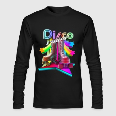 3D Disco Roller - Men's Long Sleeve T-Shirt by Next Level