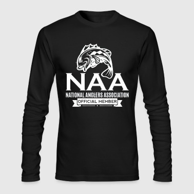 Official National Anglers Association Member - Men's Long Sleeve T-Shirt by Next Level