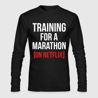 Training for a Marathon - Men's Long Sleeve T-Shirt by Next Level