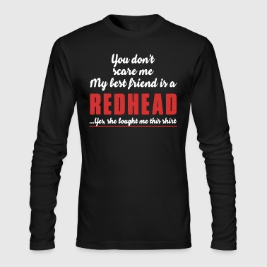 Redhead Shirt - Men's Long Sleeve T-Shirt by Next Level
