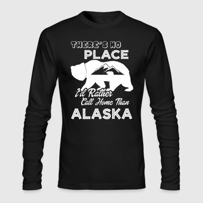 Alaska Home Shirt - Men's Long Sleeve T-Shirt by Next Level