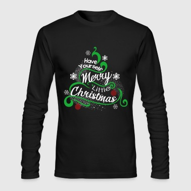 Merry Christmas Shirts - Men's Long Sleeve T-Shirt by Next Level