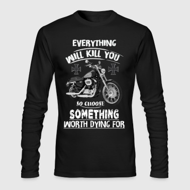 PASSIONATE BIKERS Harley - Men's Long Sleeve T-Shirt by Next Level