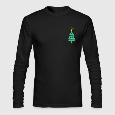 marry christmas - Men's Long Sleeve T-Shirt by Next Level