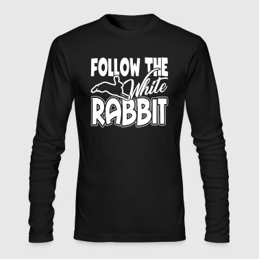 White Rabbit Shirts - Men's Long Sleeve T-Shirt by Next Level