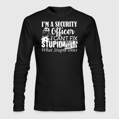 Security Officer Shirt - Men's Long Sleeve T-Shirt by Next Level