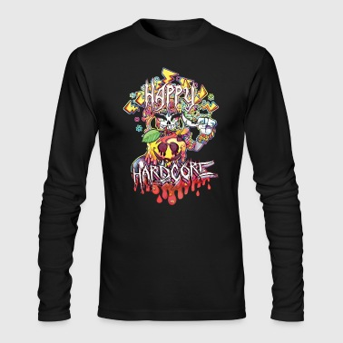 Happy Hardcore - Men's Long Sleeve T-Shirt by Next Level