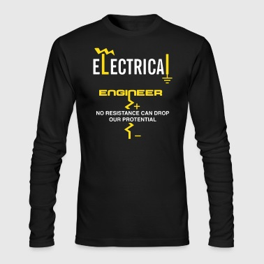 Electrical Engineer Shirt - Men's Long Sleeve T-Shirt by Next Level