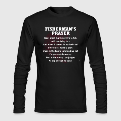 Fisherman Shirt - Men's Long Sleeve T-Shirt by Next Level