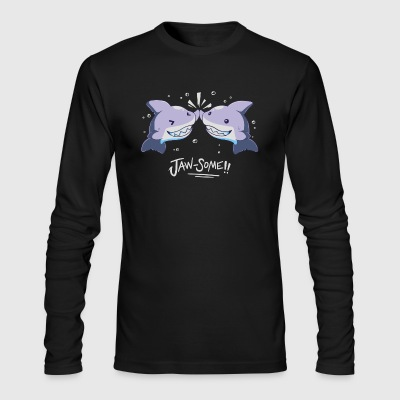 Jaw some - Men's Long Sleeve T-Shirt by Next Level