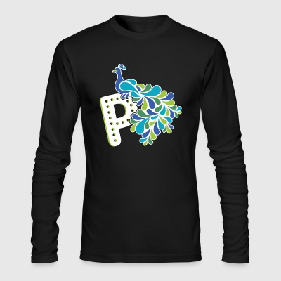 Peacock Shirt - Men's Long Sleeve T-Shirt by Next Level