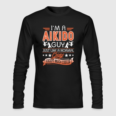 Aikido T Shirts - Men's Long Sleeve T-Shirt by Next Level