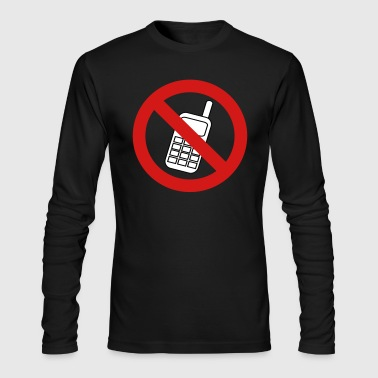 No Phone - Men's Long Sleeve T-Shirt by Next Level