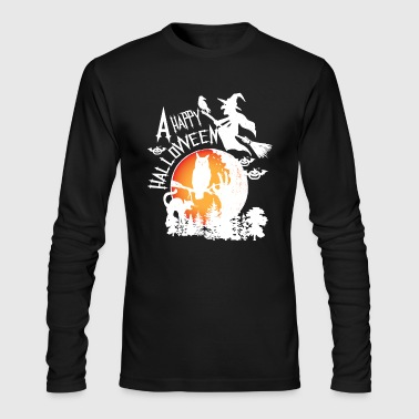 A Happy Halloween - Men's Long Sleeve T-Shirt by Next Level