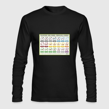 polyatomic ions - Men's Long Sleeve T-Shirt by Next Level