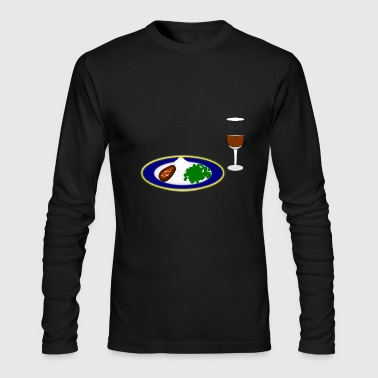 peas - Men's Long Sleeve T-Shirt by Next Level