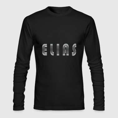 elias name - Men's Long Sleeve T-Shirt by Next Level