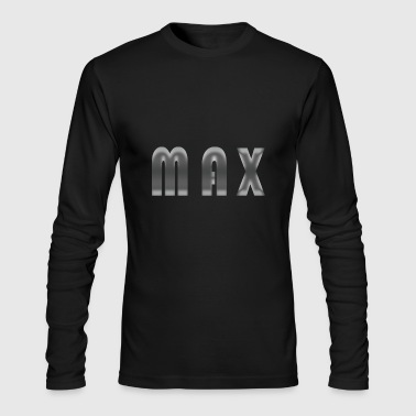 max name - Men's Long Sleeve T-Shirt by Next Level