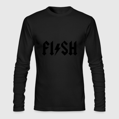fishing - Men's Long Sleeve T-Shirt by Next Level