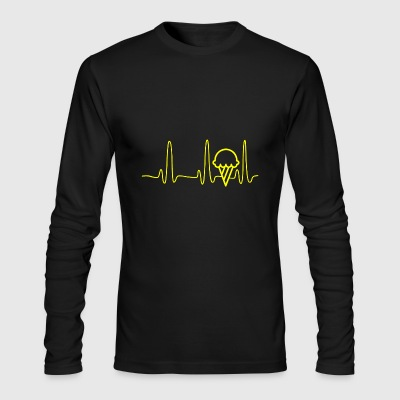 GIFT - ECG ICE YELLOW - Men's Long Sleeve T-Shirt by Next Level