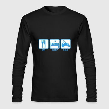 Eat Sleep Cod - Men's Long Sleeve T-Shirt by Next Level