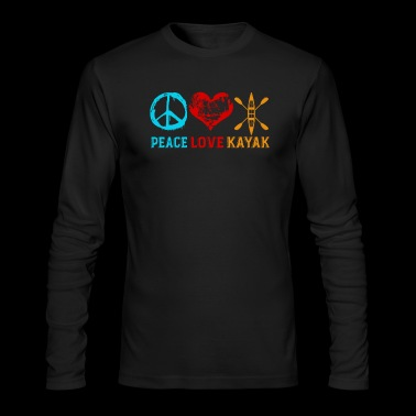 Kayak Tee Shirt - Men's Long Sleeve T-Shirt by Next Level