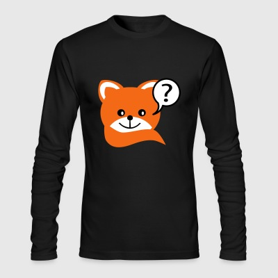 fox - Men's Long Sleeve T-Shirt by Next Level