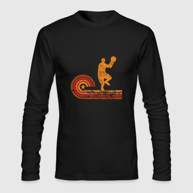 Retro Style Basketball Player Vintage - Men's Long Sleeve T-Shirt by Next Level