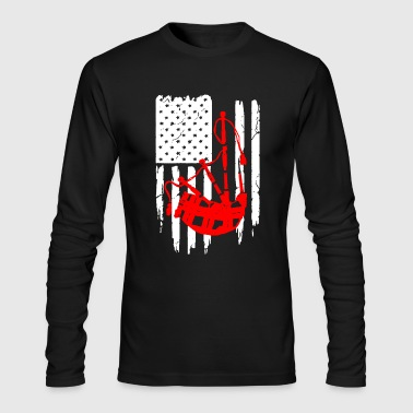 Bagpipe Shirt - Men's Long Sleeve T-Shirt by Next Level