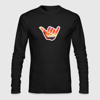 Hang Loose - Men's Long Sleeve T-Shirt by Next Level