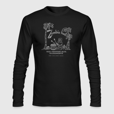 ZOMBIE HUT - Sacramento - Men's Long Sleeve T-Shirt by Next Level