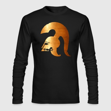 ancient warrior - Men's Long Sleeve T-Shirt by Next Level