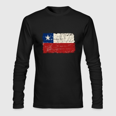Chile Flag - Vintage Look - Men's Long Sleeve T-Shirt by Next Level