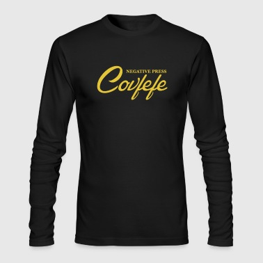 Negative Press Covfefe - Men's Long Sleeve T-Shirt by Next Level