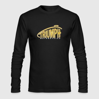 Triumph Motorcycles - Men's Long Sleeve T-Shirt by Next Level