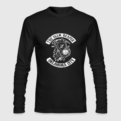 The Slim Reaper - Men's Long Sleeve T-Shirt by Next Level