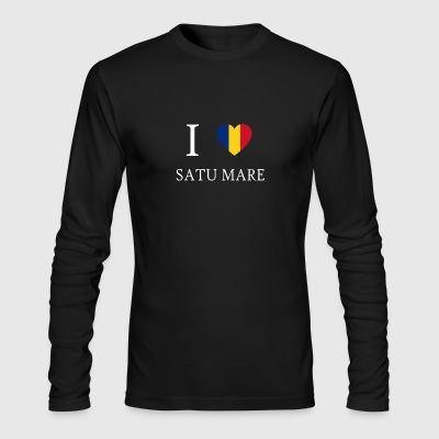 Love Romania SATU MARE - Men's Long Sleeve T-Shirt by Next Level