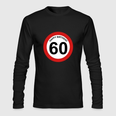 60th birthday - Men's Long Sleeve T-Shirt by Next Level
