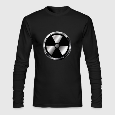 radioactive logo - Men's Long Sleeve T-Shirt by Next Level