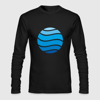 water - Men's Long Sleeve T-Shirt by Next Level