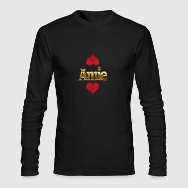Amie - Men's Long Sleeve T-Shirt by Next Level