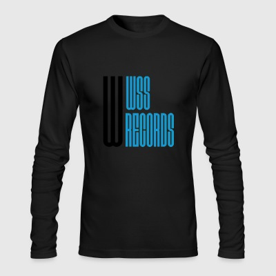 WSS Records - Men's Long Sleeve T-Shirt by Next Level