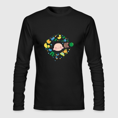 GIFT - BABY DESIGN - Men's Long Sleeve T-Shirt by Next Level