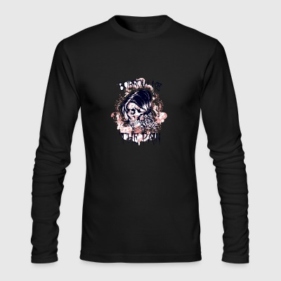 pain - Men's Long Sleeve T-Shirt by Next Level